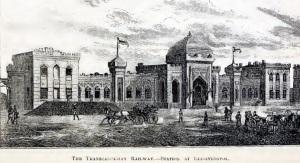 Елисаветполь. Вокзал. 1891 г.